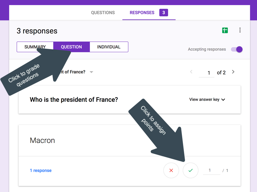 Grade Short Answers in Google Forms - Language Makerspace